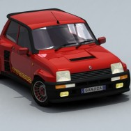 Renault 5 GT Turbo - Render 02