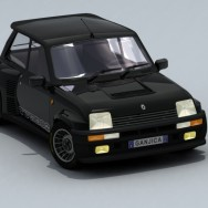 Renault 5 GT Turbo - Render 02B