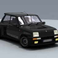 Renault 5 GT Turbo - Render 01B