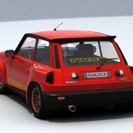 Renault 5 GT Turbo - Render 03